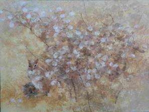 庭先 - 40 x 30 cm / 2017