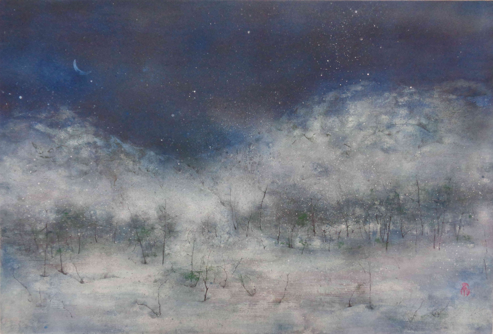 Nocturne - 41x 61 cm / 2020