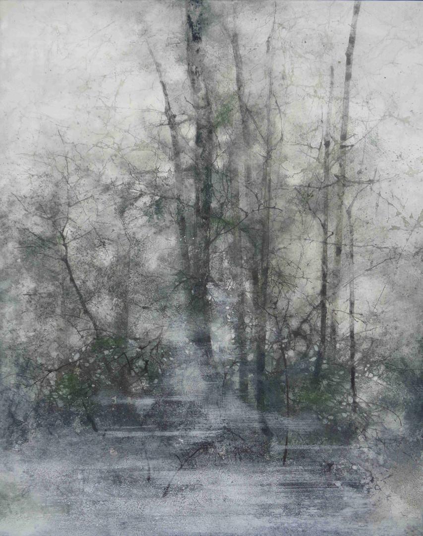 Forêt du Vincennes - 41 x 33 cm / 2017