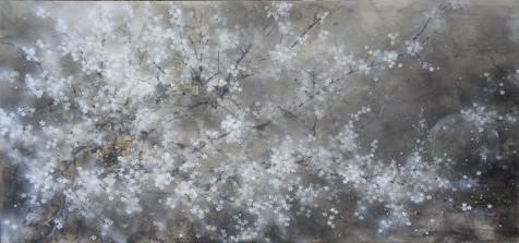 Yozakura - 70x150 cm / 2019