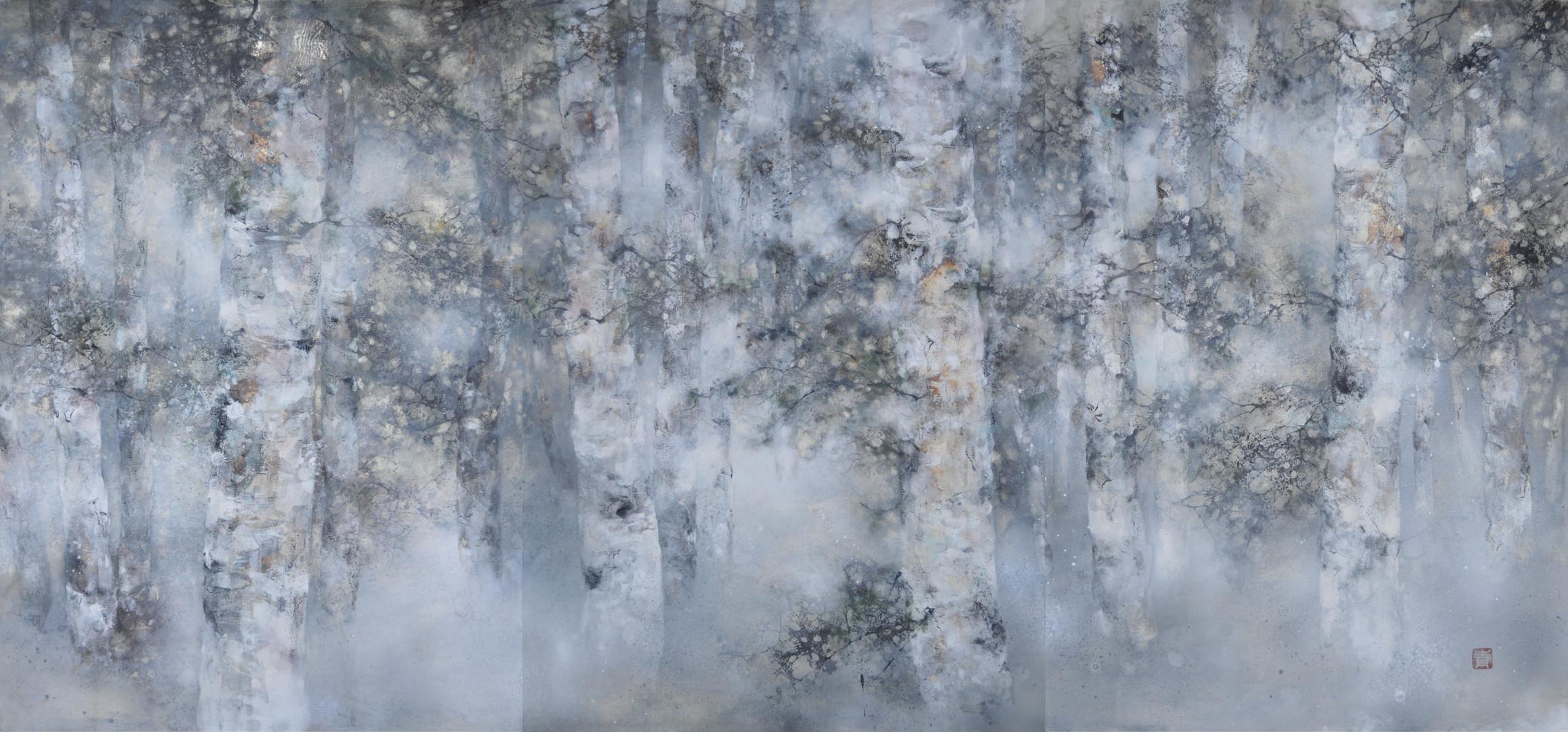 Plénitude - 100 x 210 cm / 2019