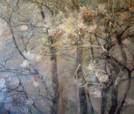Chanson de printemps - 180 x 212 cm