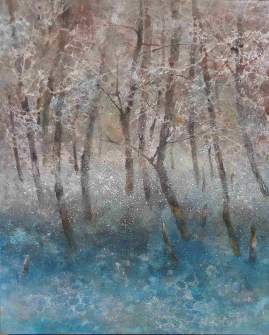アロニーの森 - 46 x 38 cm / 2017