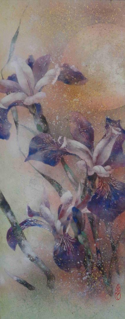 Iris - 50 x 20 cm