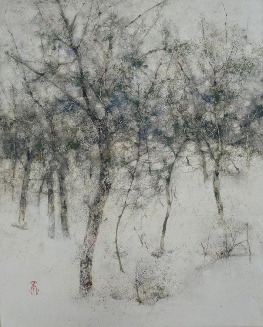 Temps - 46 x 38 cm / 2018