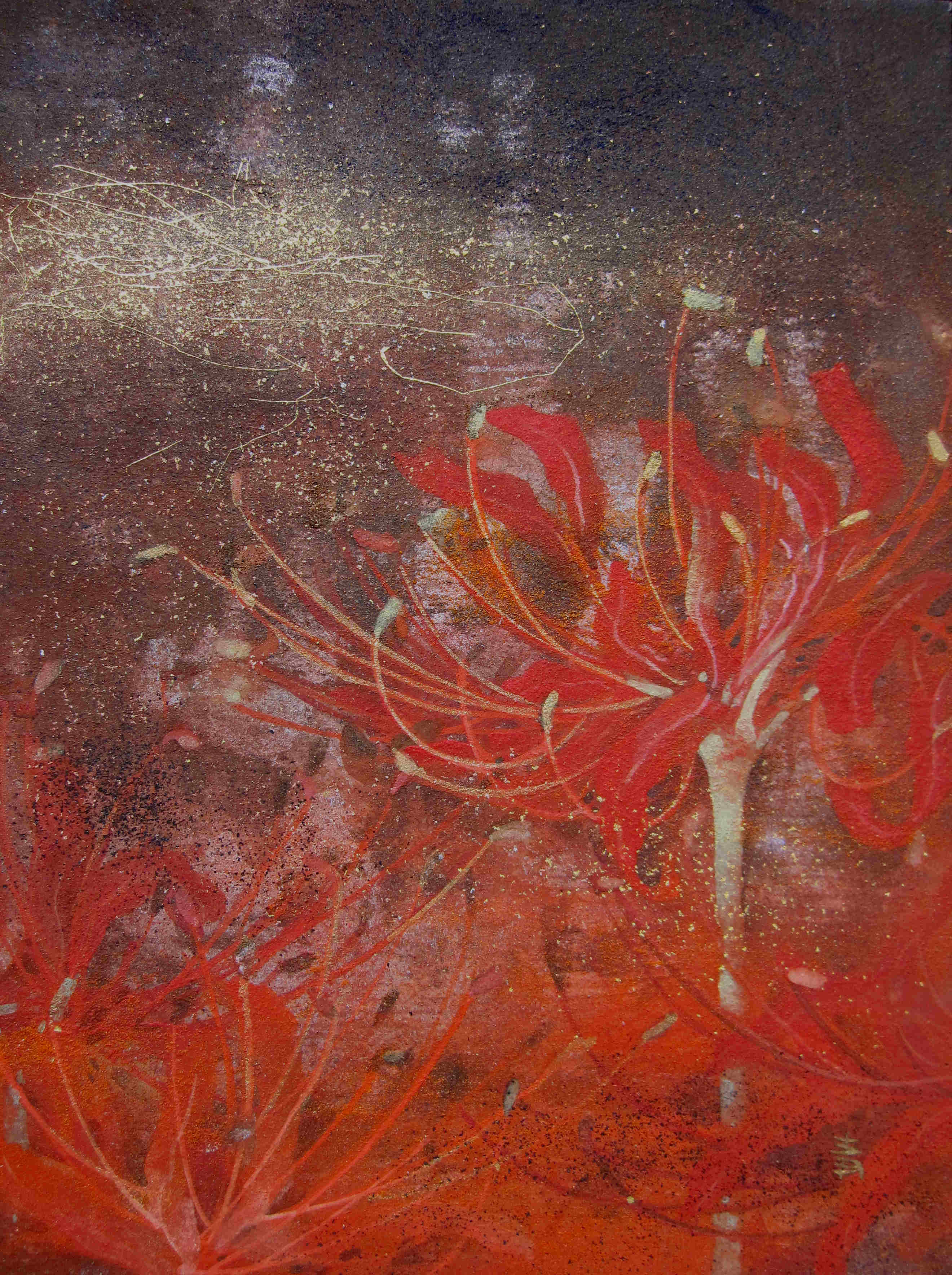 Flamme- 24x18cm /2013