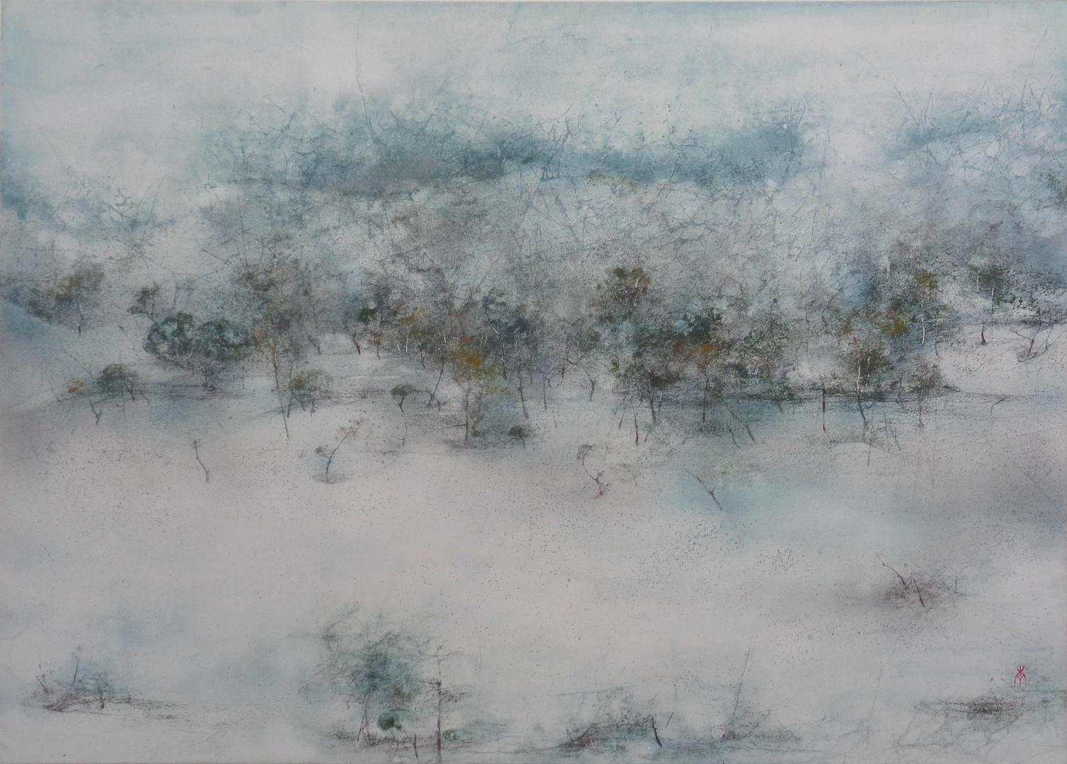 Serene - 50 x 70 cm / 2020