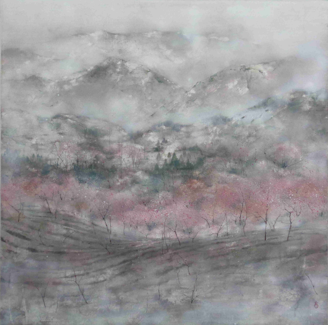 Early spring - 85 x 85 cm / 2021