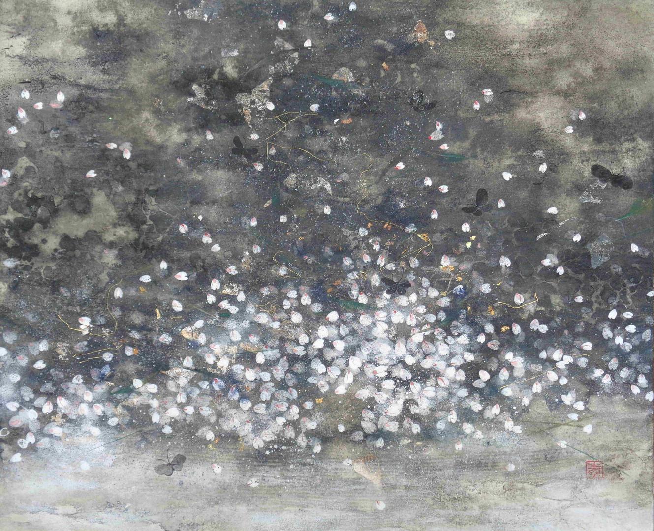 Cerisier III - 38 x 46 cm / 2015