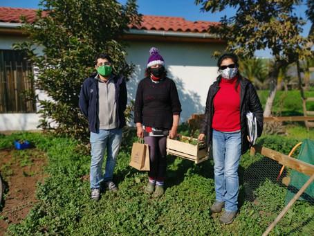 Exitoso cierre en terreno del Programa Agroconsumo Familiar 2019-2020