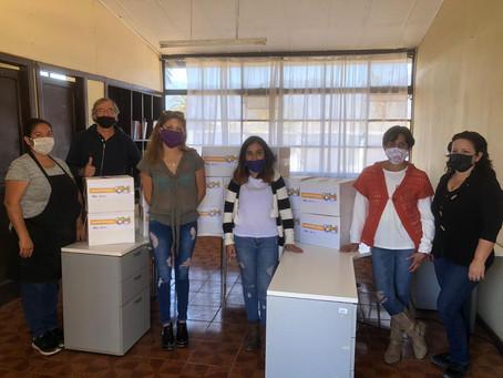Mujeres del Centro Terapéutico Levántate, son beneficiadas gracias al Proyecto Familia Entrelazadas