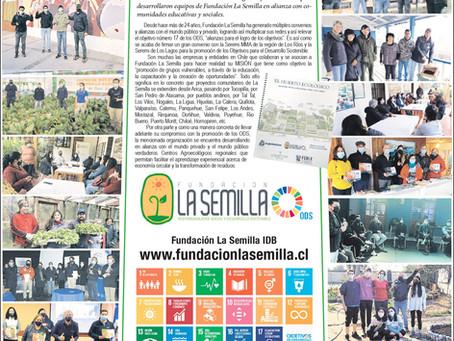 Una gran tarea para la educación ambiental de Fundación La Semilla