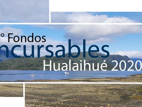 Por cuarto año consecutivo, se lleva a cabo los Fondos Concursables de Hualaihué 2020