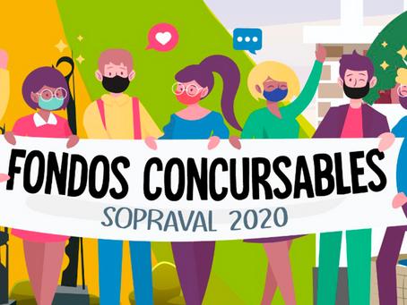 61 Organizaciones Sociales son beneficiadas a través de los Fondos Concursables Sopraval 2020
