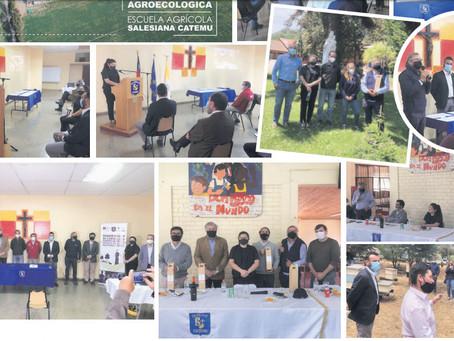 Inauguración de nuestro Centro Agroecológico Reg. con el Ministerio del Medio Ambiente y Agricultura