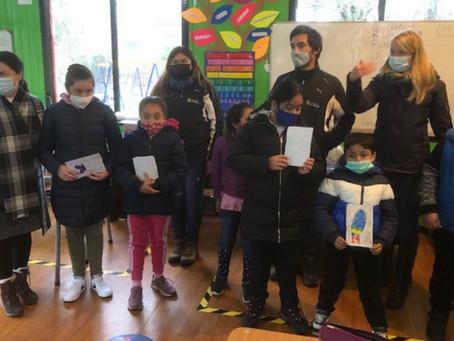 EQUIPO DE FUNDACIÓN LA SEMILLA Y ESCUELA RUPUMEICA BAJO DESARROLLARON TALLERES INTERACTIVOS.