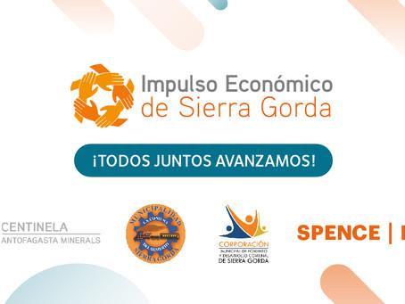 Impulso Económico de Sierra Gorda, ¡Todos juntos avanzamos!