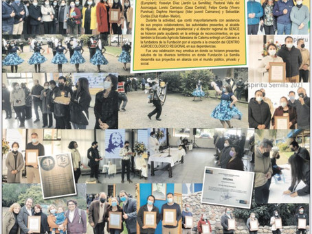 Fundación Semilla Celebra 24 Años en Familia con esquinazo y entrega de Reconocimientos
