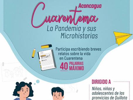 """Concurso de microcuentos """"Cuarentema"""": La Pandemia y sus Microhistorias"""