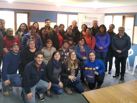 Lanzamiento del Fondo Concursable en Hualaihué y Quemchi junto a Ventisqueros