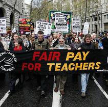 Do professions go on strike?