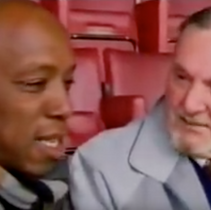 Ian Wright and the teacher he loved... literally.