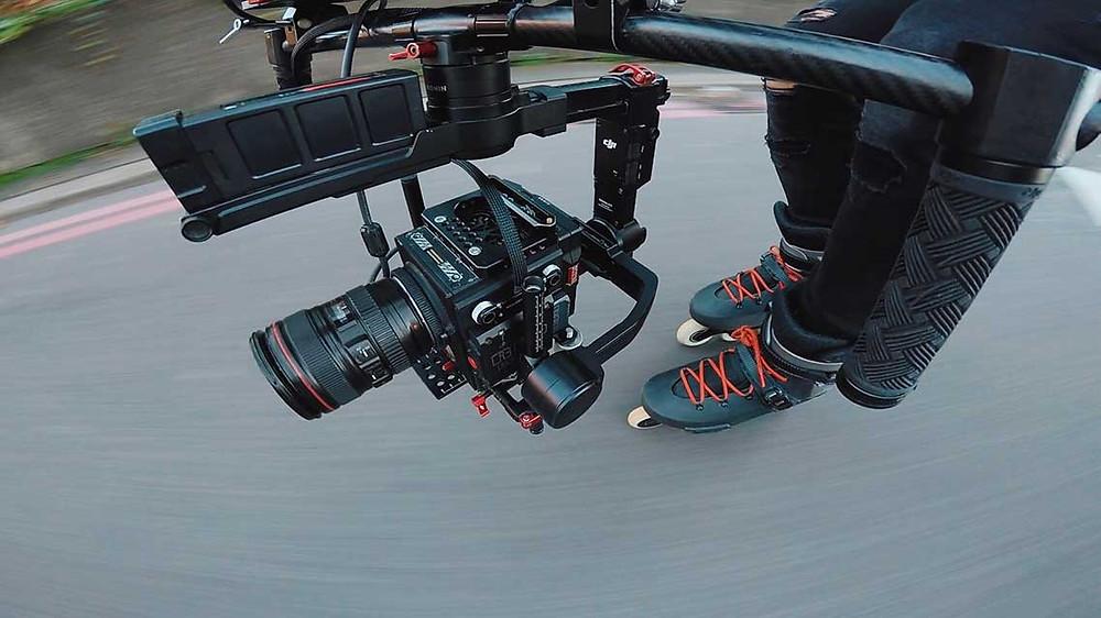 sports camera operator