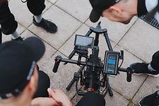 preofessional camera crew