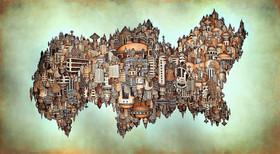 Ecumenopolis mural