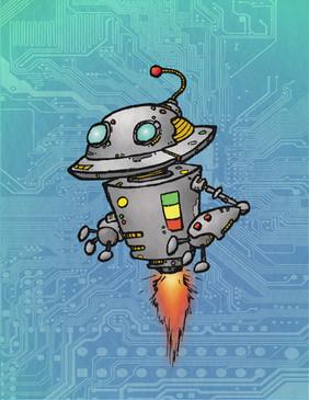 Saucer Bot