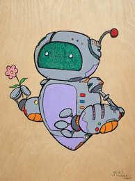 Floaty Bot with Flower