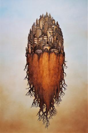 Ecumenopolis with Roots