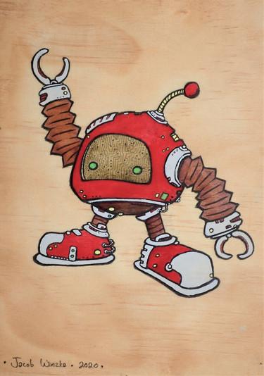 Round Ball Bot