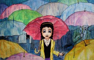 Rainy Day & Umbrellas