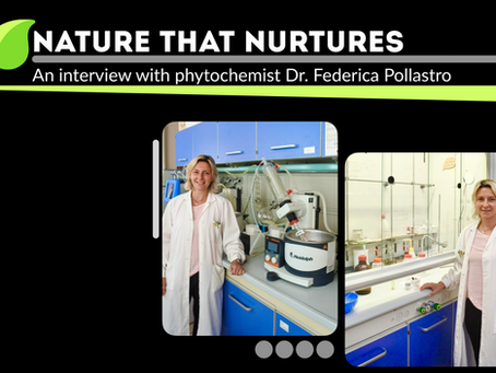 Nature that Nurtures: An interview with phytochemist Dr. Federica Pollastro