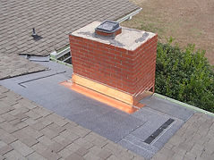 copper flashing, copper does not rot as fast as thin gauge metal