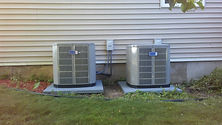 Free estimates on up graded AC equipment