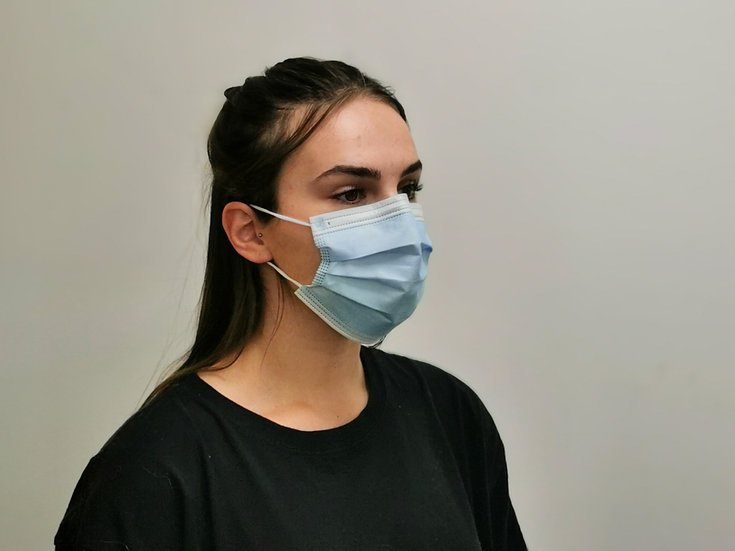Fluid Resistant Surgical Face Masks - Type IIR Certified