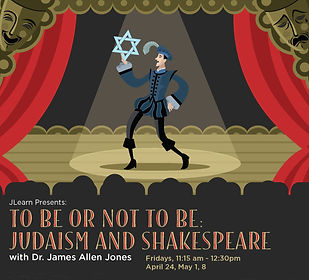 JLearn Judiasm Shakespeare Flyer JCC20_F