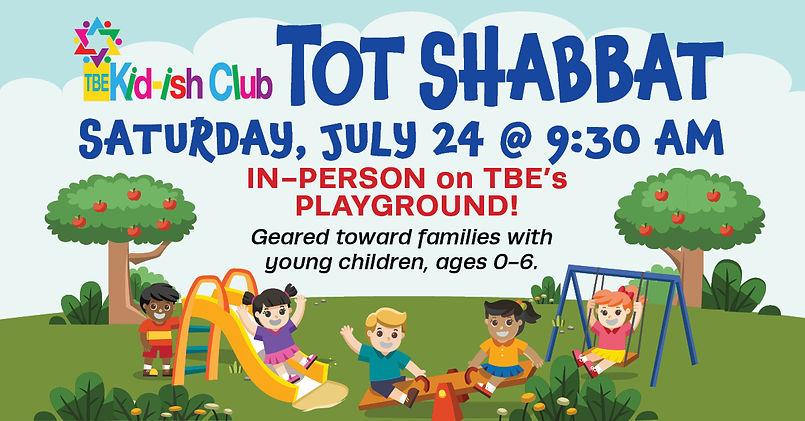 kid-ish club tot shabbat on playground 2