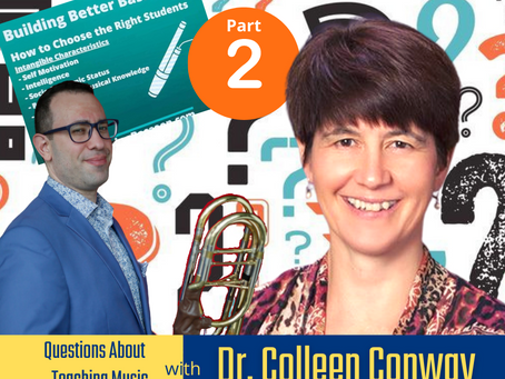 About Teaching Music with Dr. Colleen Conway Pt. 2
