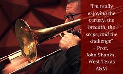 Prof. John Shanks, West Texas A&M