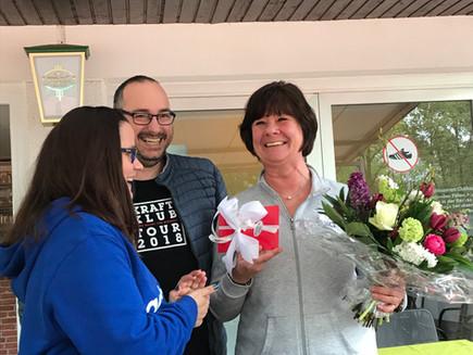 Marion Engelmann als langjährige Breitensport-Chefin verabschiedet.