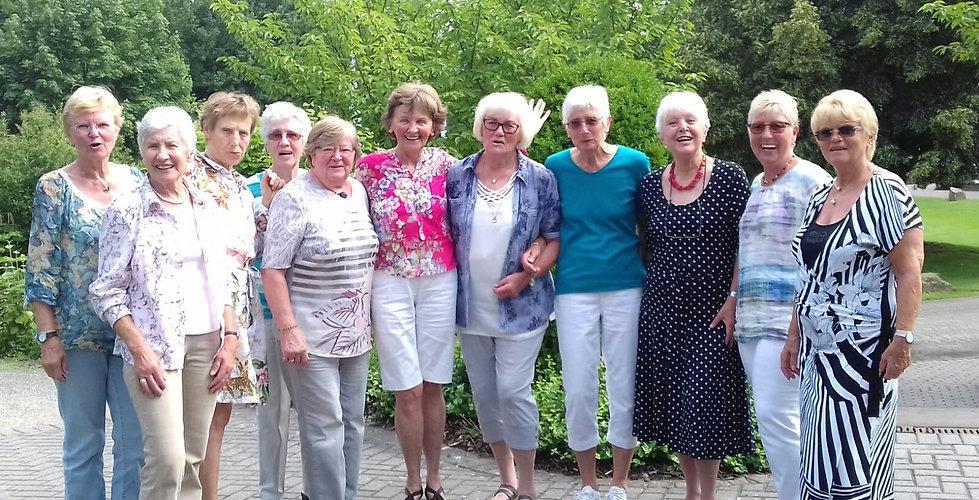 Unsere Herren 55-Mannschaft des Tennisclubs DJK Germania Hoisten