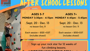 Fall After School Lessons!