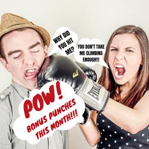 Bonus Punches This Month!!!