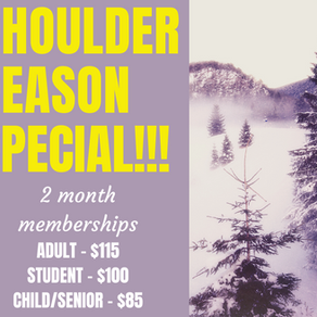 Shoulder Season Special on Now!