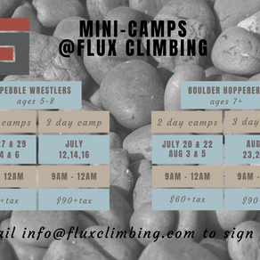 Summer Camp Schedule Released!