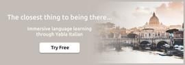 italian banner