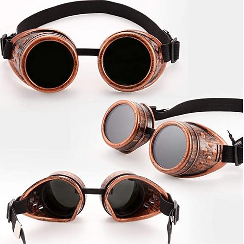 Steampunk Goggles - Brass Color